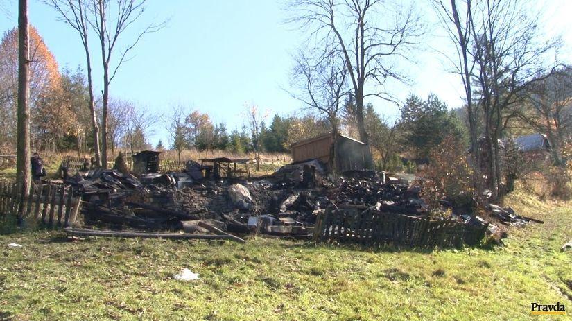 drevenica, požiar, Makov