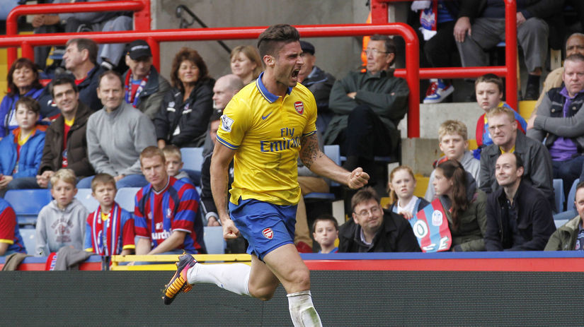 Arsenal, Olivier Giroud.