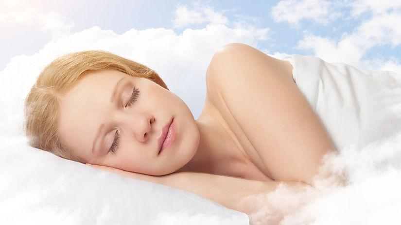 snívajúca žena, sny