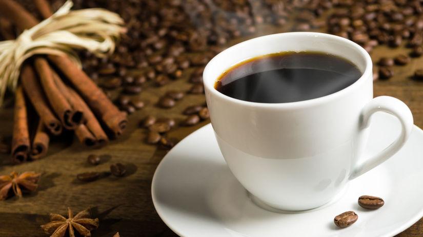 káva, kofeín