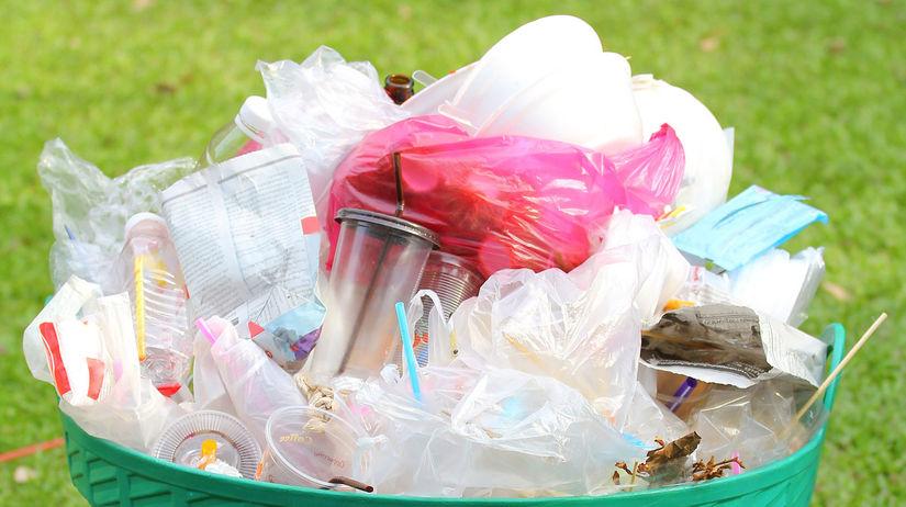 igelitka, plastová taška, smeti, recyklácia,...