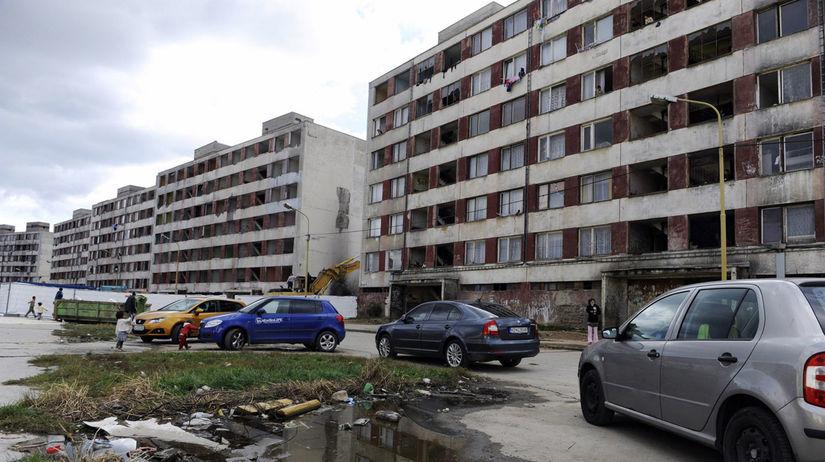 Luník IX., Košice, Rómovia
