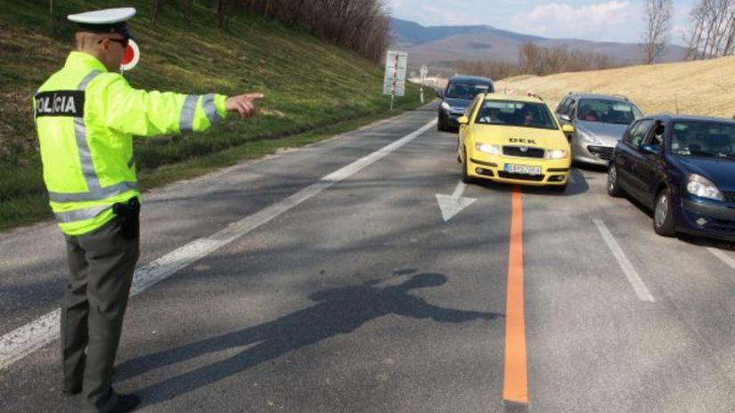 policajt, vodičský preukaz, polícia