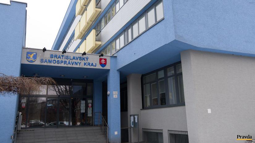 Bratislavský samosprávny kraj, Sídlo úradu...