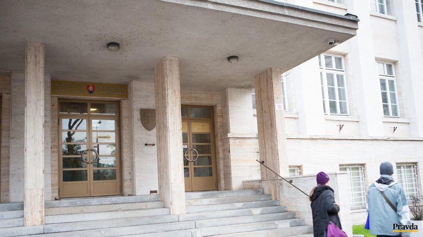 sud bratislava 1, justicny palac