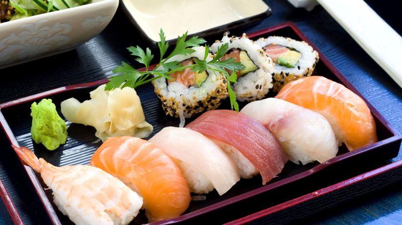 japonské sushi, národné jedlo