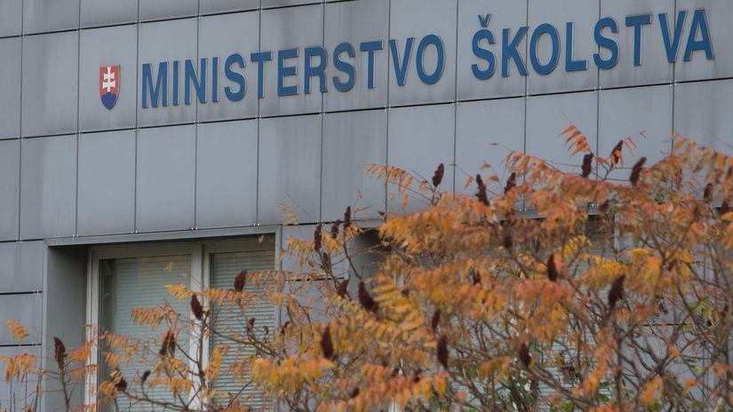 ministerstvo skolstva, Å¡kolstvo