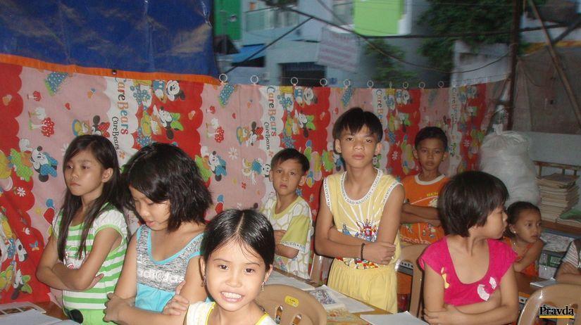 škola, deti, thajsko, barma, trieda