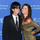 Paulína Pořízková s manželom Ricom Ocasekom