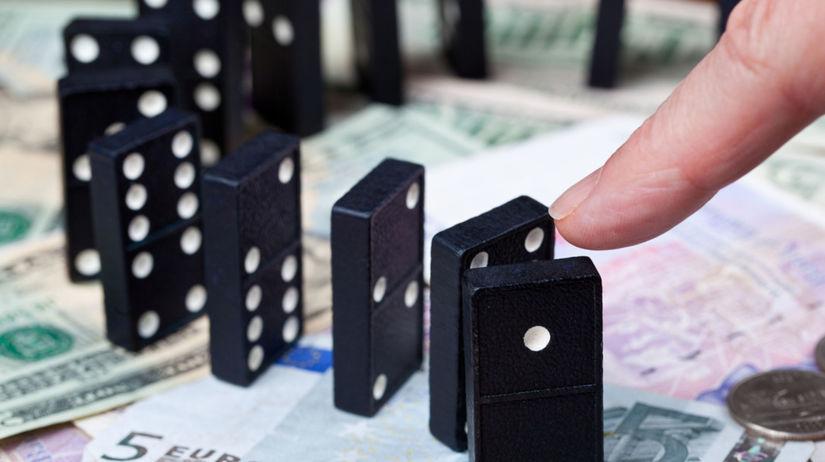 peniaze, domino, riziko, investícia, investor
