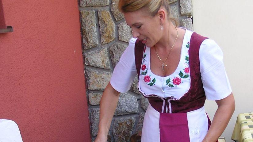 husacina, slovenská kuchyňa, pečená hus
