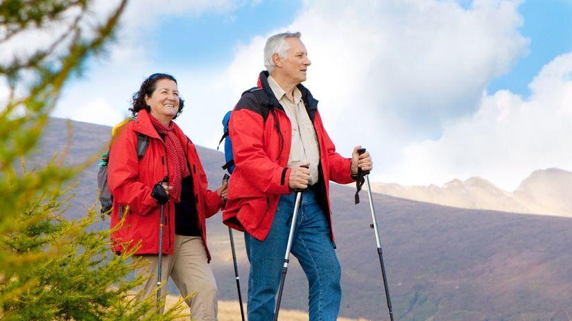 nord walking, šport, pohyb, turistika, hory