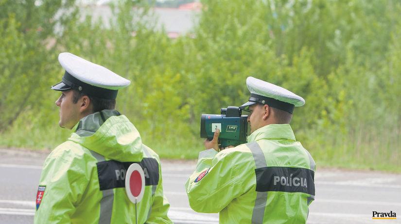 polícia, radar, doprava, meranie rýchlosti,...