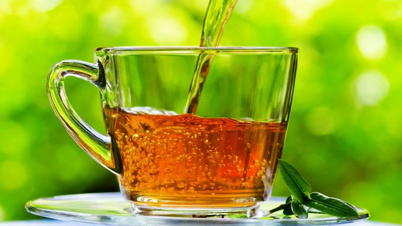 čaj, bylinkový čaj, pitie čaju