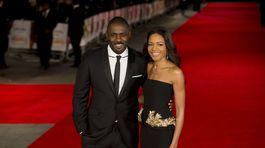 Idris Elba a herečka Naomie Harris