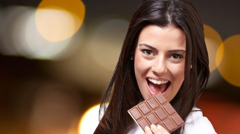 maškrtenie, sladkosť, čokoláda