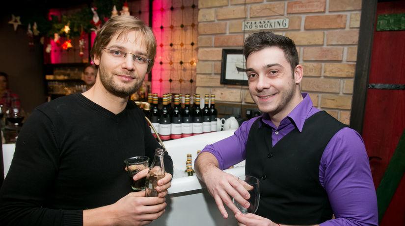 Herci Přemysl Boublík (vľavo) a Pavol Plevčík.
