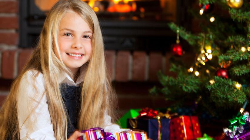 vianoce, darčeky, atmosféra, radosť