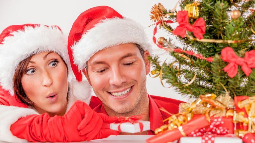Vianoce, darčeky, radosť