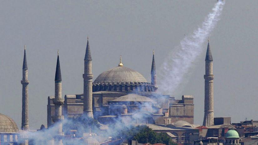 Hagia Sofia, Turecko, Istanbul