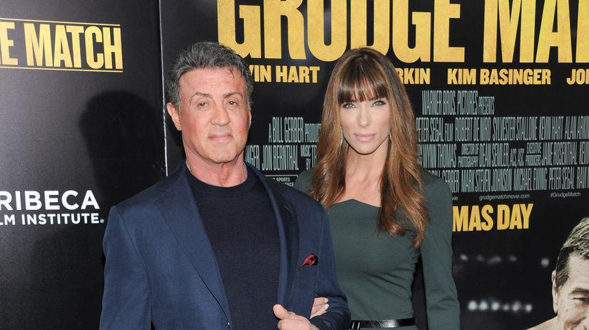 Herec Sylvester Stallone prišiel na premiéru s...