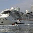 Miami, prístav, loď