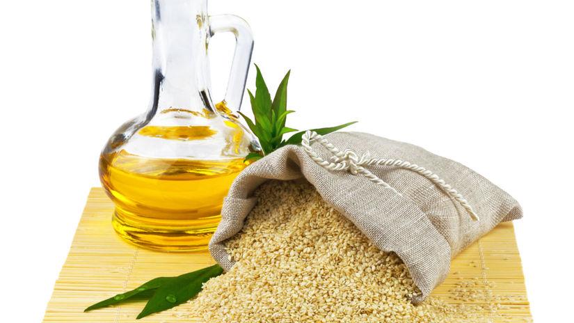 sezamové semená, olej, výživa