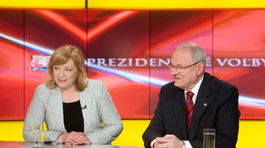 Voľby 2009, prezident, prezidentske volby, TV markiza, Radičová, Gašparovič