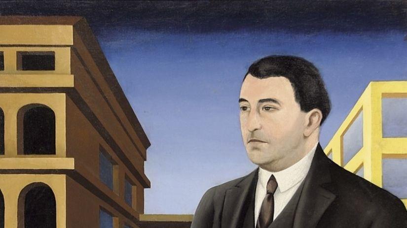 Alexander Bortnyik. Portrét Jozefa Poláka