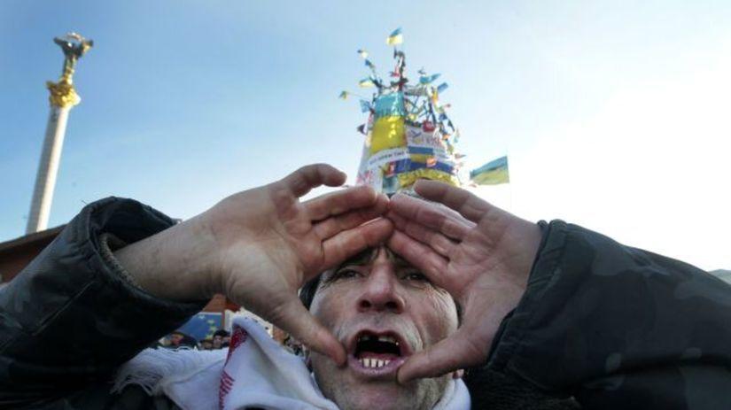 Ukrajina, demonštrácie