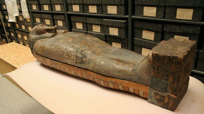 Egypt, rakva, múmia
