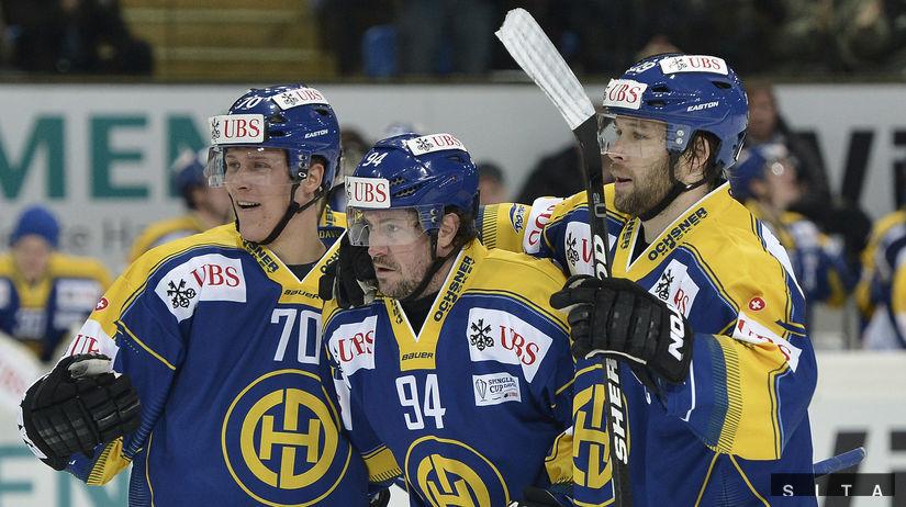 Hokejisti Davosu.
