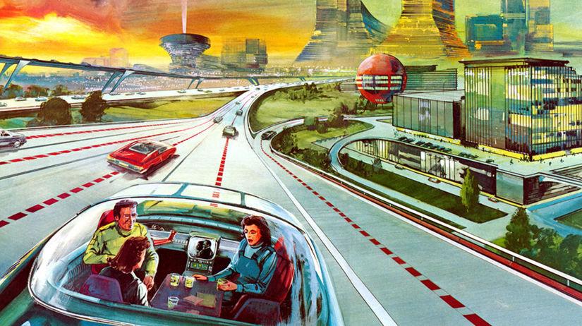 budúcnosť, automobil,