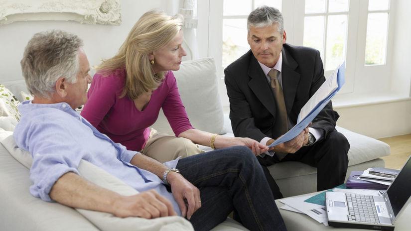 dôchodca, dôchodok, zmluva, poistenie, dedičstvo