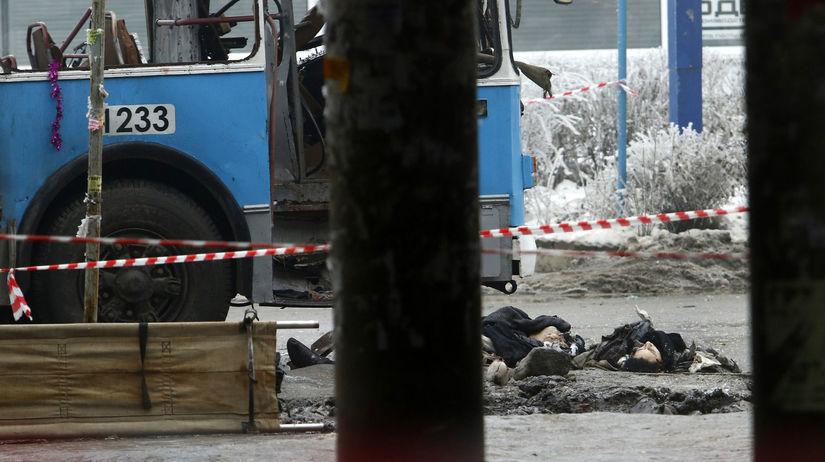 Rusko, Volgograd, explózia, trolejbus