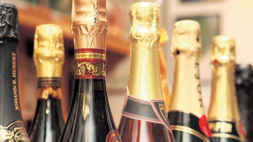 šampanské, šampus, šumivé, víno
