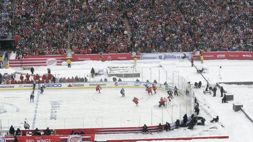 Winter Classic, Detroit, Toronto
