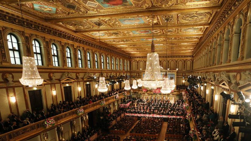 Novoročný koncert, Viedenská filharmónia