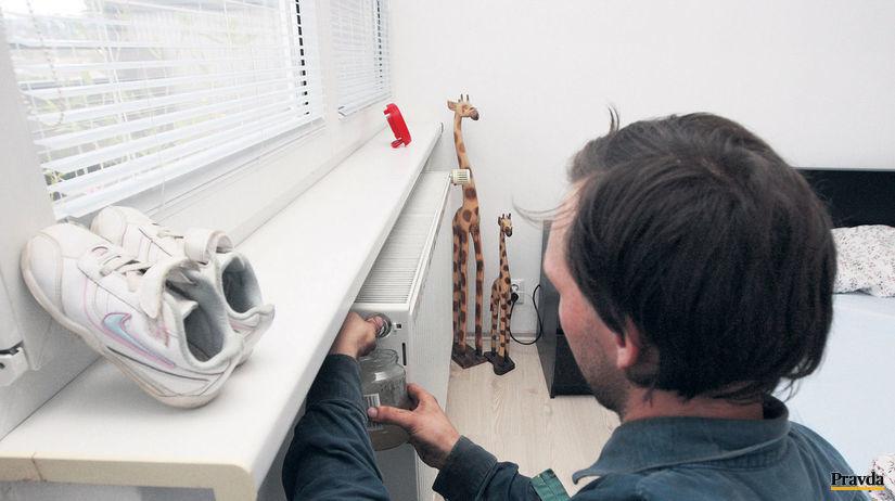 radiátor, kúrenie, teplo, bývanie
