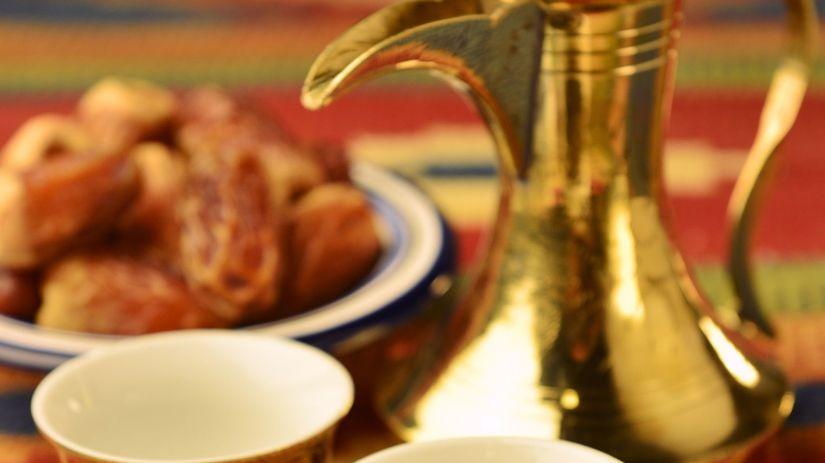 arabská káva, pochutina