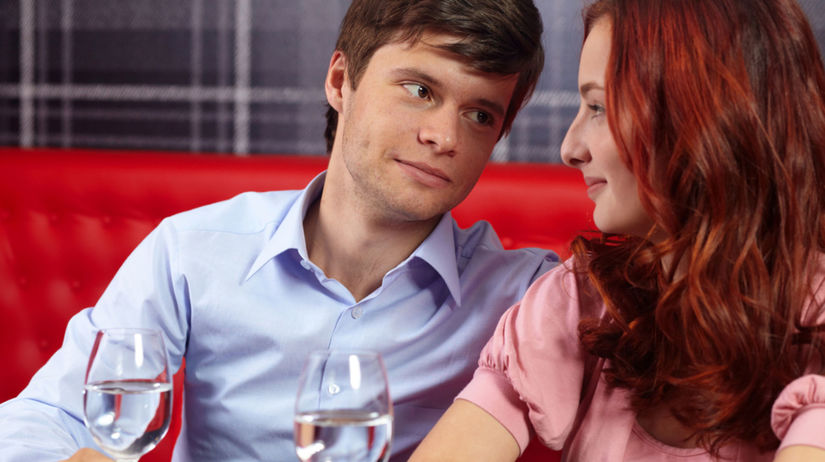 rande, zamilovaný pár