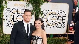 Channing Tatum a jeho manželka Jenna Dewan