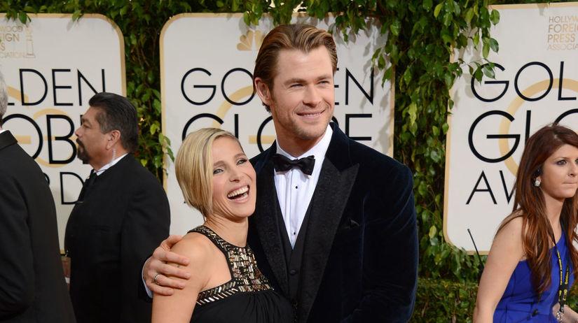 Herečka Elsa Pataky s manželom Chrisom...