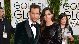 Matthew McConaughey a jeho manželka Camila Alves