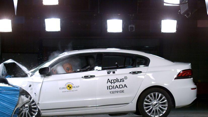 Qoros 3 sedan - Euro NCAP