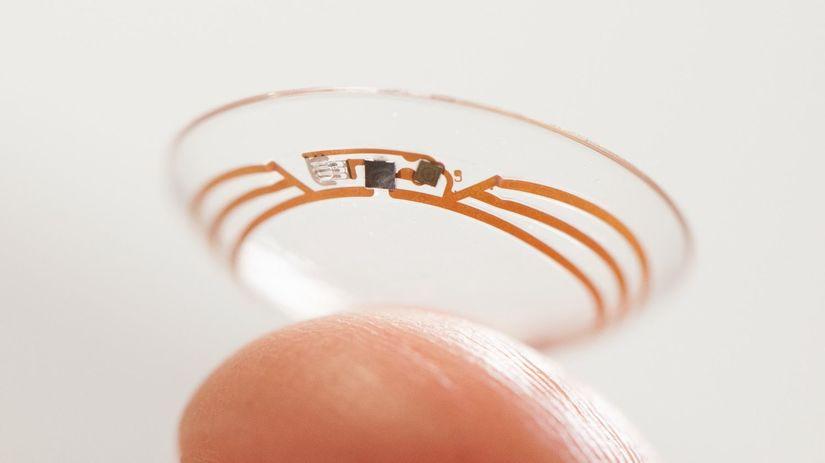 Google, inteligentná kontaktná šošovka, diabetes