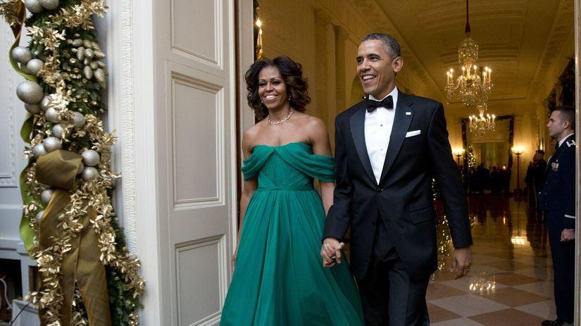 Michelle Obama, Barack Obama, Obamovci