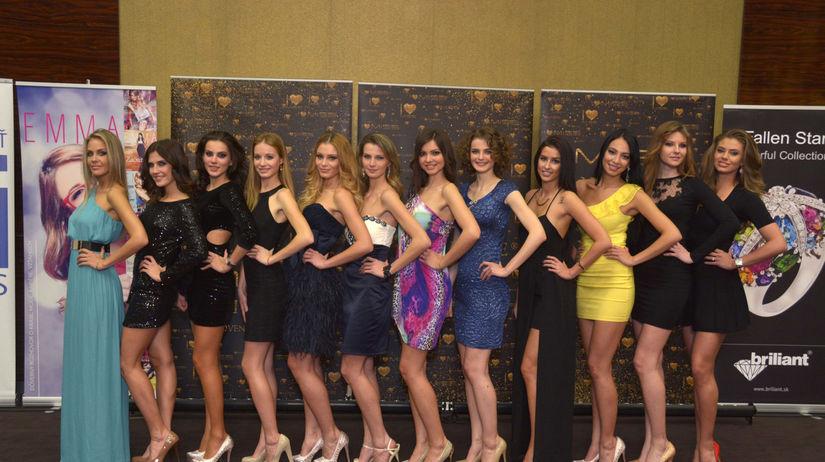 Miss Universe SR 2014 - finalistky
