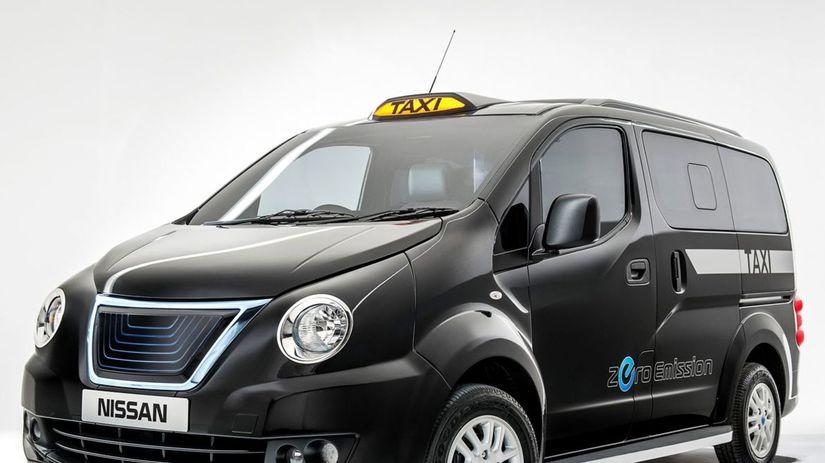 Nissan NV200 - taxík pre Londýn