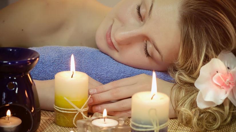 aromaterapia, sviečky, éterické oleje